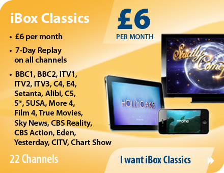 Choose the iBox Internet TV package you want to subscribe to